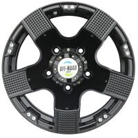 Диск литой OFF-ROAD Wheels УАЗ 5x139,7 8xR15 d110 ET-27 черный