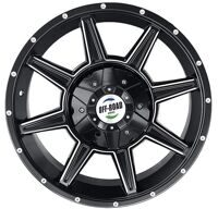 Диск литой OFF-ROAD Wheels для Тойота 5x150 8,5xR17 d110 ET+30 черный
