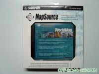 World Map CD with Trip and Waypoint manager kit