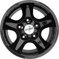 Диск OFF-ROAD Wheels для УАЗ литой черный 5x139,7 8xR15 d110 ET-27